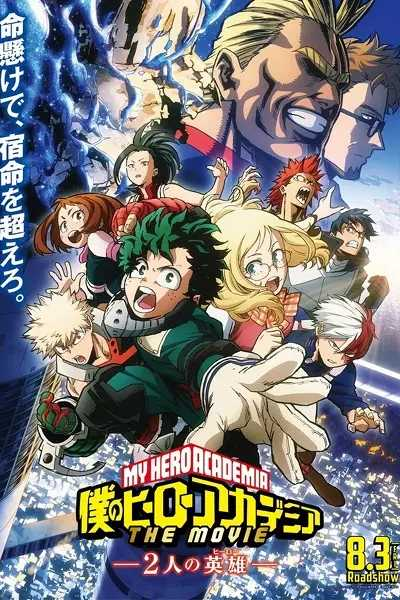 My Hero Academia: Two Heroes English Subbed